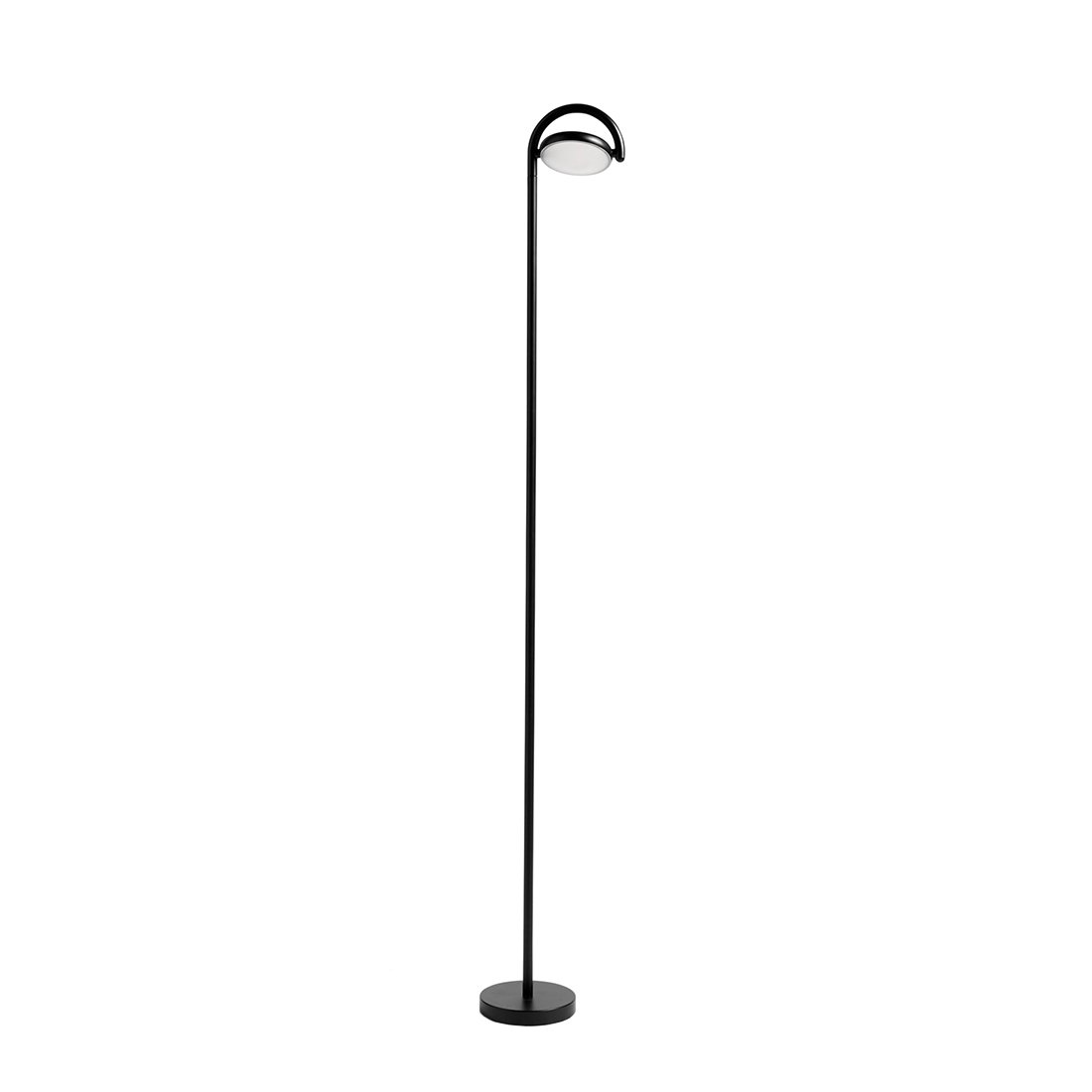 HAY Marselis Vloerlamp - Zacht Zwart