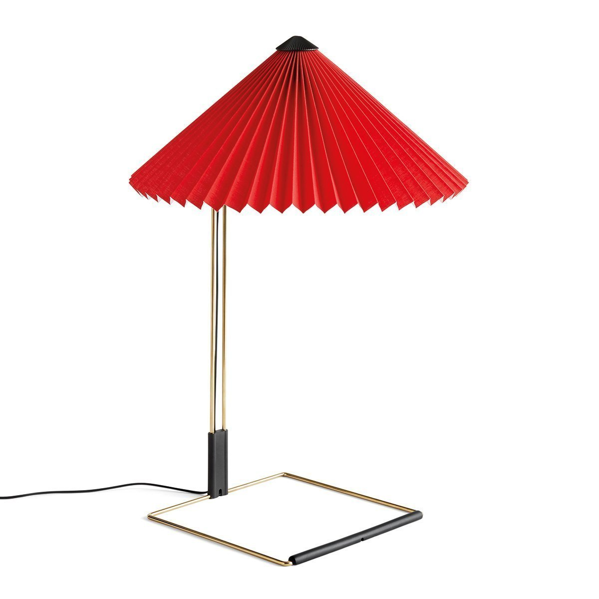 HAY Matin Tafellamp - Large - Bright Red