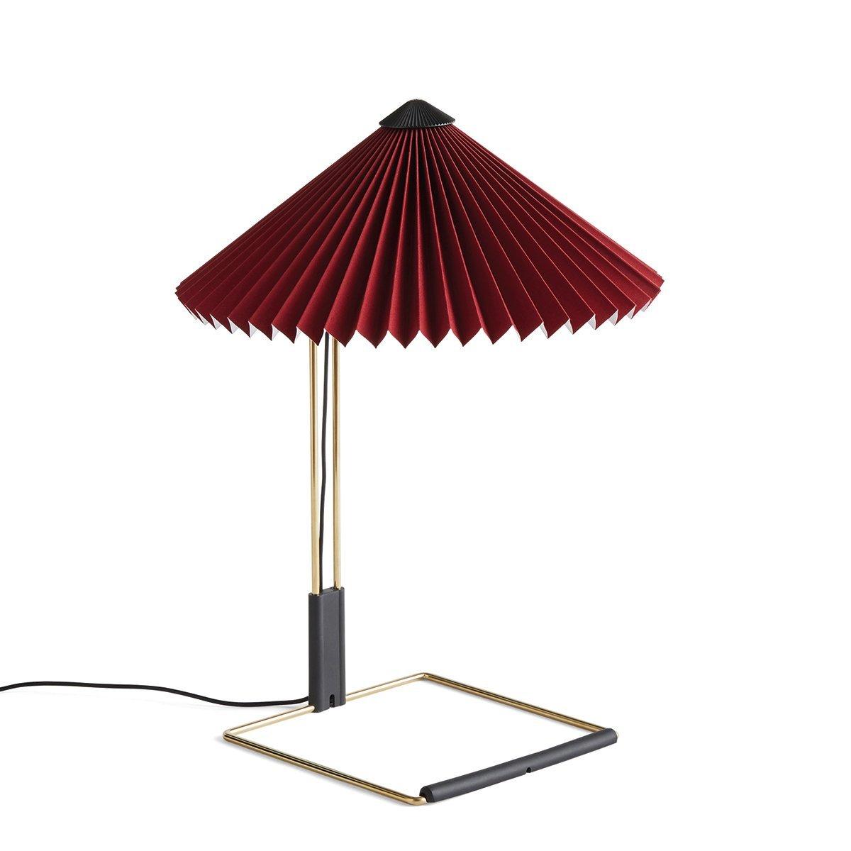 HAY Matin Tafellamp - Small - Oxide Red