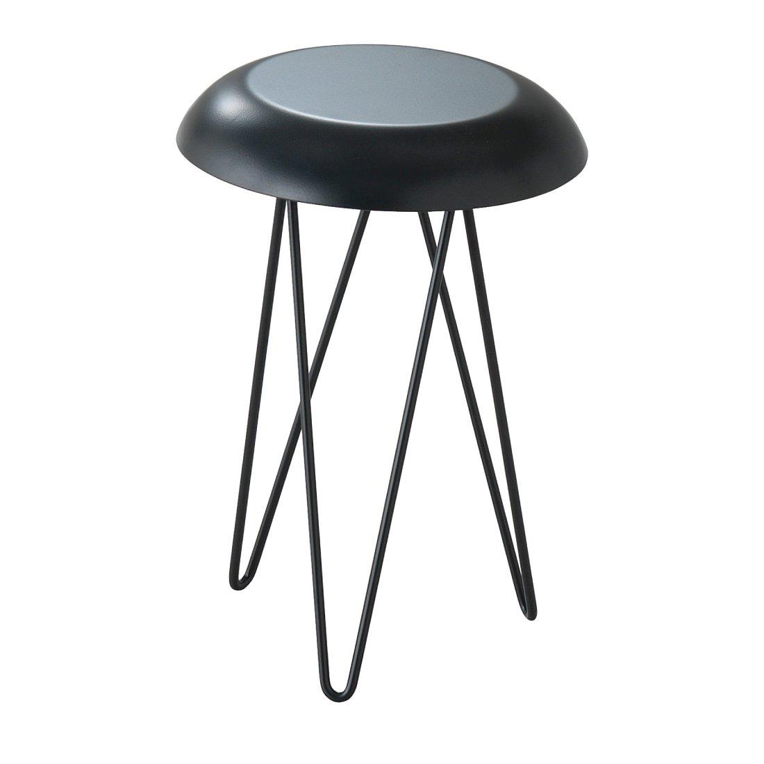 chariot bijzettafel wit casamania. Black Bedroom Furniture Sets. Home Design Ideas