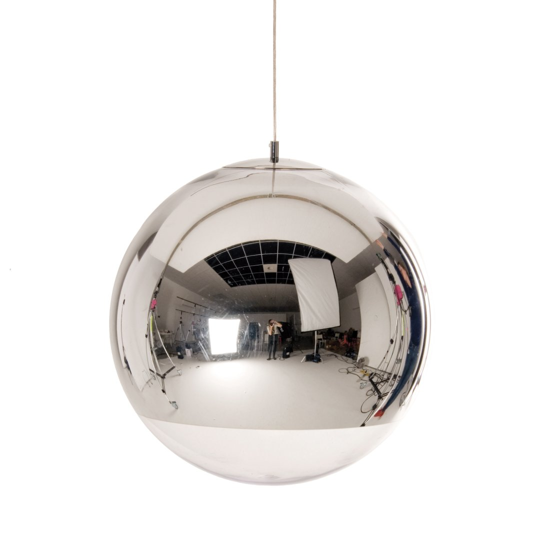 Tom Dixon Mirror Ball Hanglamp � 50 cm