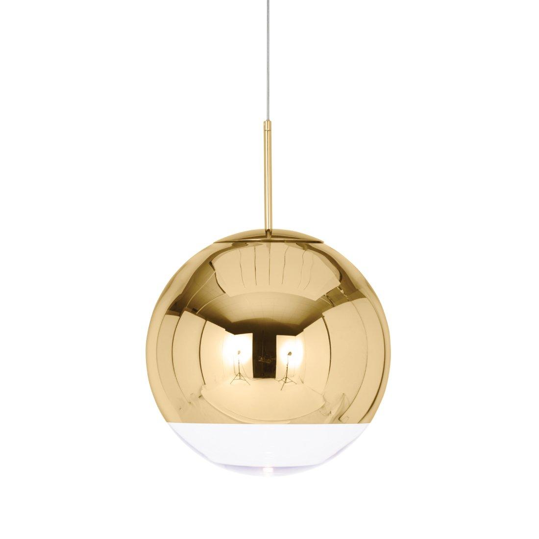Tom Dixon Mirror Ball Hanglamp Goud � 40 cm