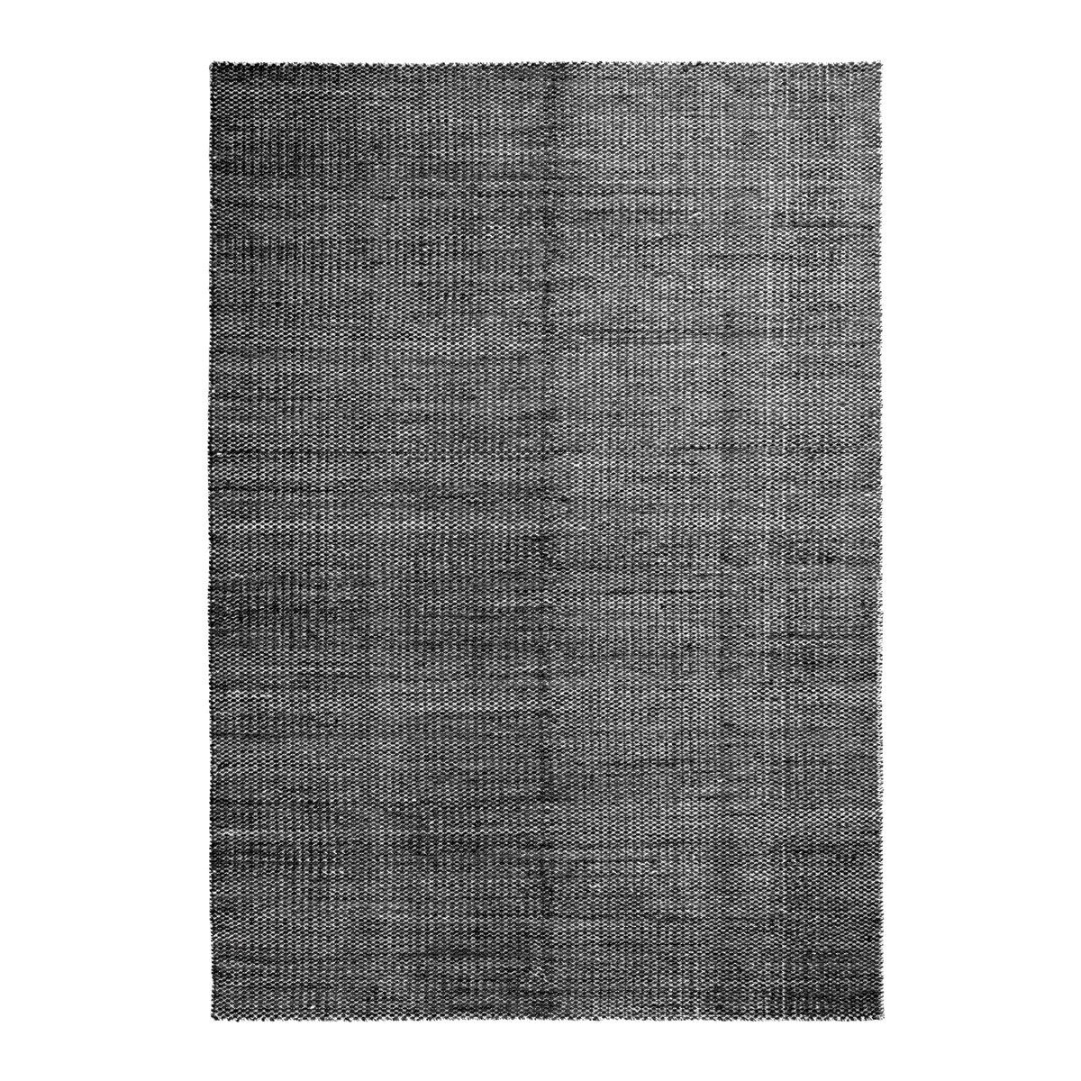 HAY Moir� Vloerkleed Zwart - l. 300 x b. 200 cm.