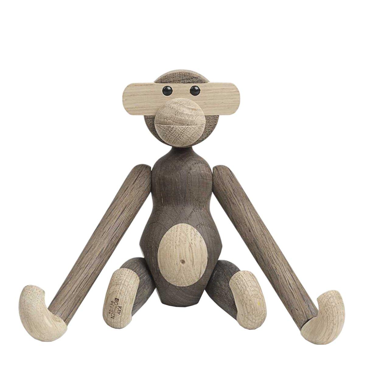 Kay Bojesen Monkey Small - Eiken/Gerookt Eiken
