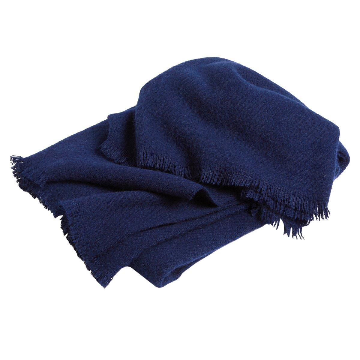 HAY Mono Deken - Nachtblauw