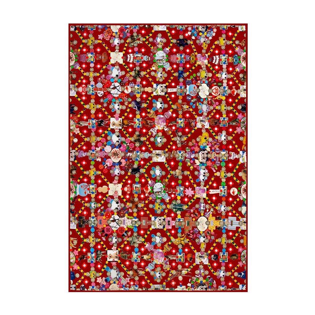 Moooi Carpets Obsession Vloerkleed Rood
