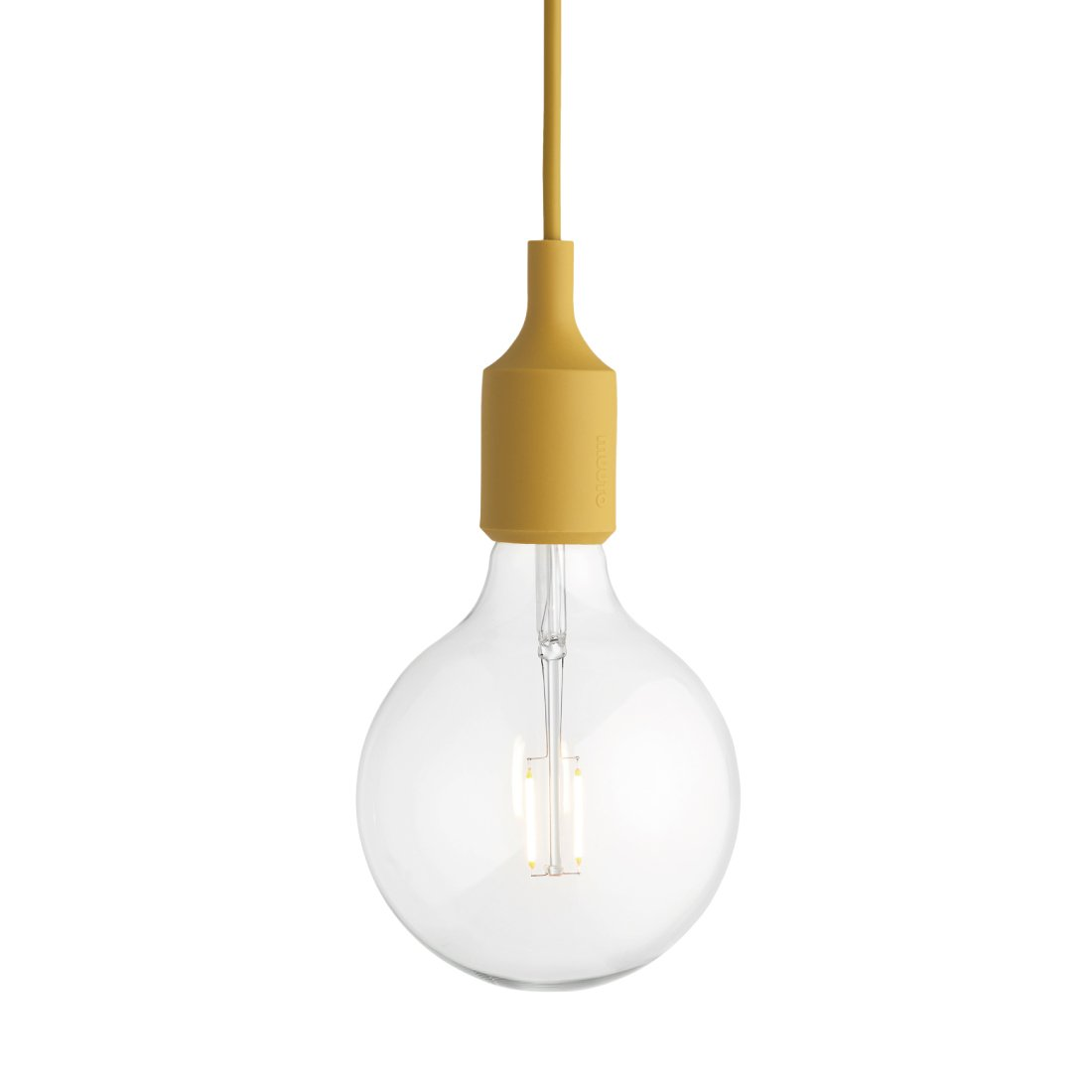 Muuto E27 Socket Hanglamp LED Mosterd
