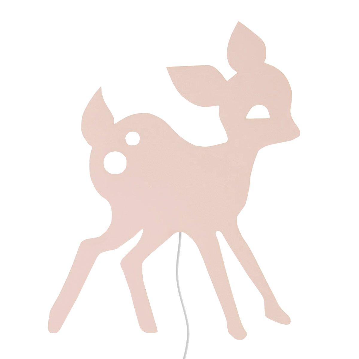 Ferm Living My Deer Wandlamp Roze