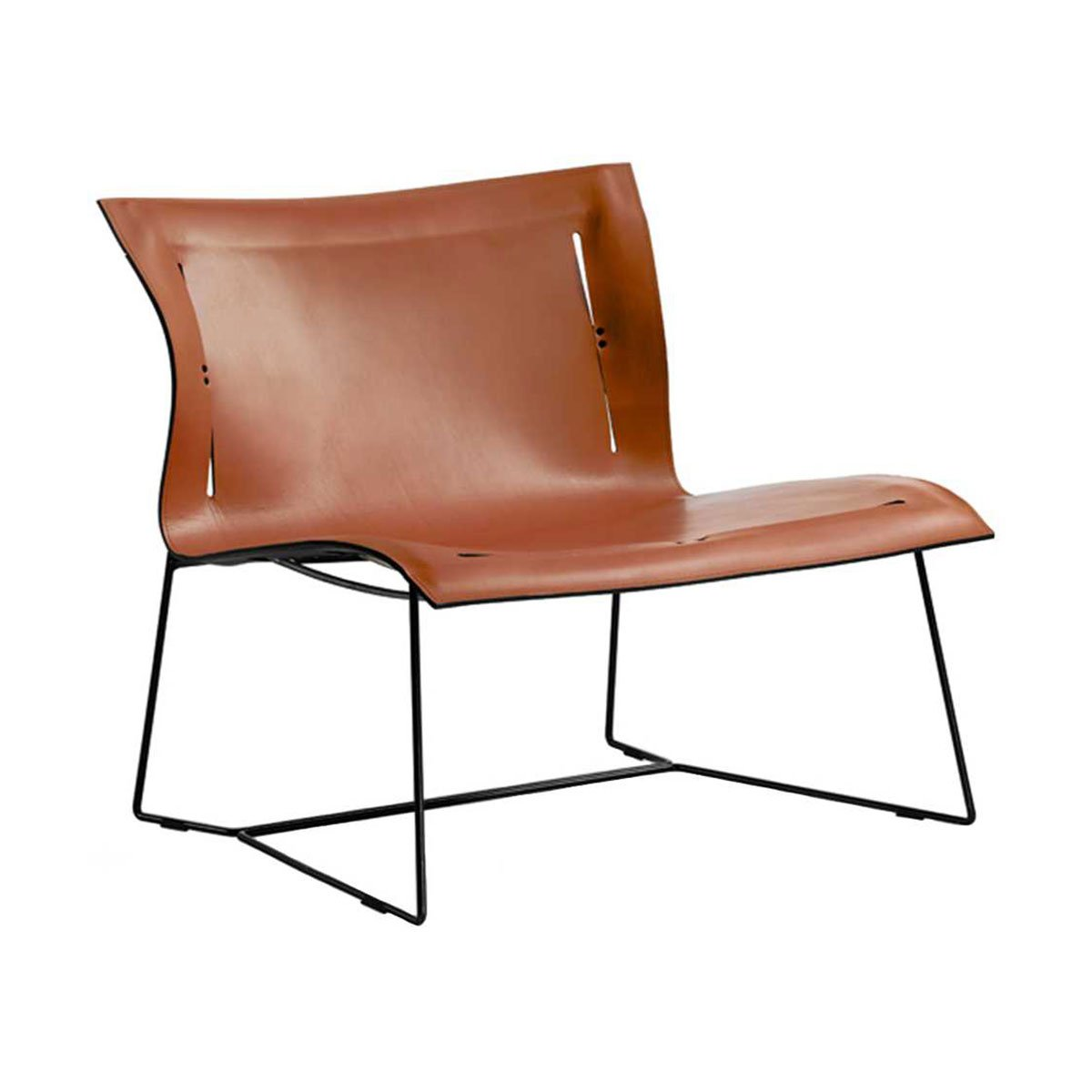 Walter Knoll Cuoio Loungestoel Leather Saddle