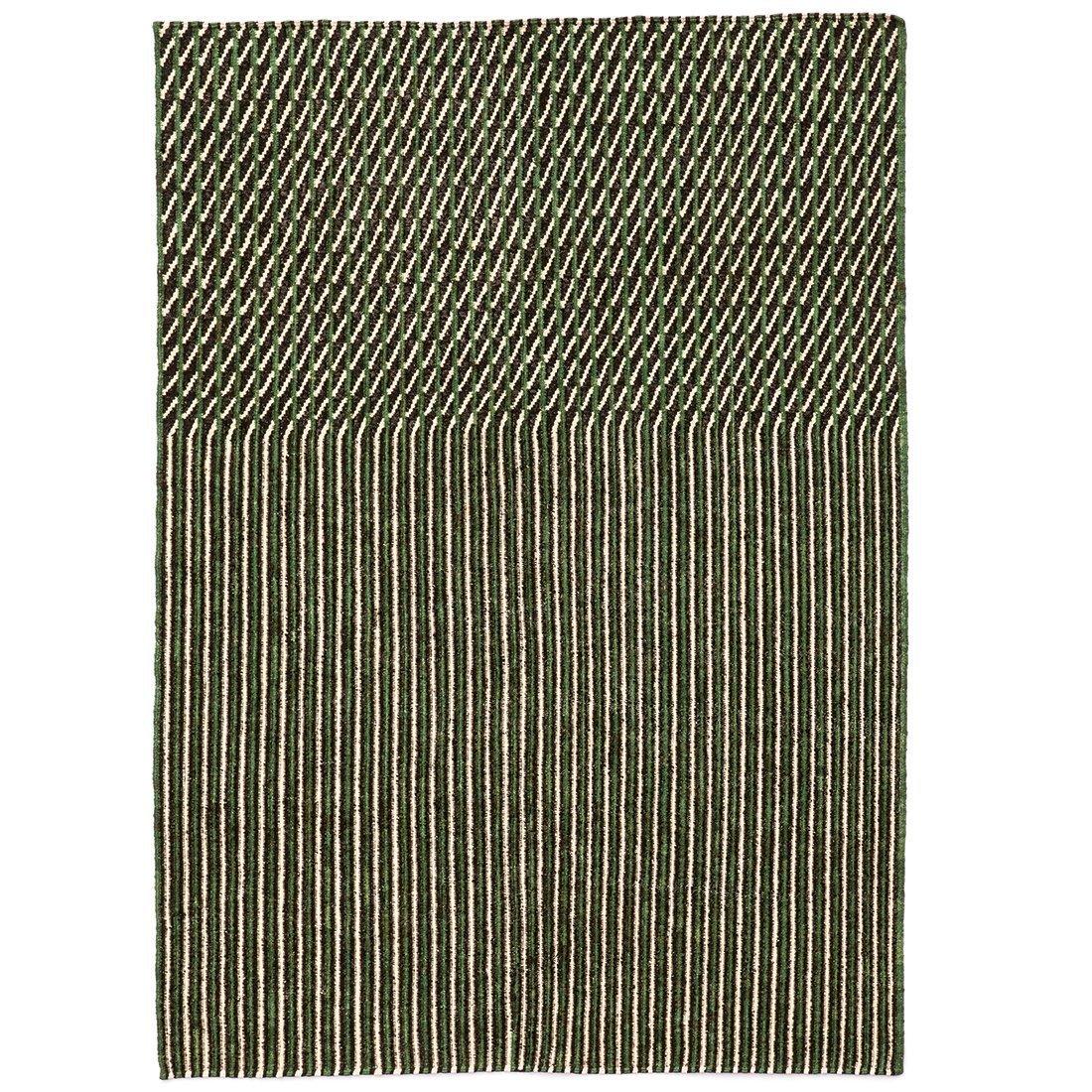 Nanimarquina Blur Vloerkleed Groen - 300 x 200 cm.