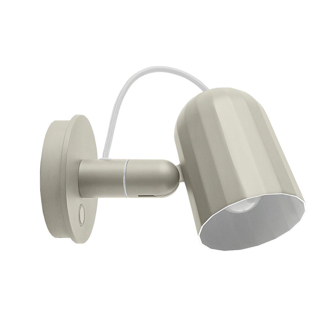 NOC Button Wandlamp - Gebroken wit