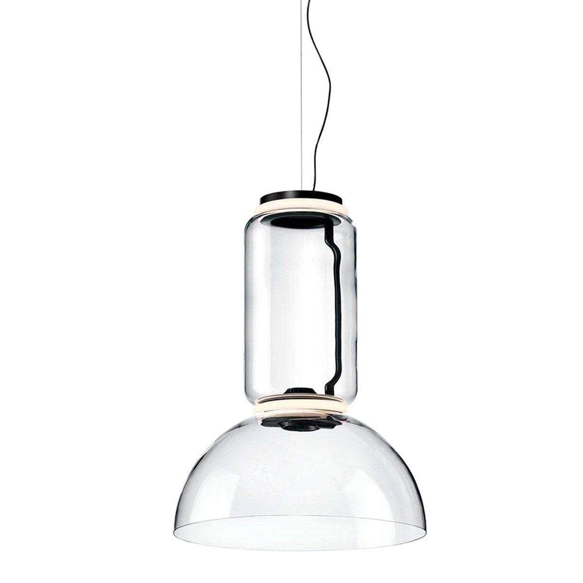 FLOS Noctambule Hanglamp - 1 Low Cylinder & Bowl