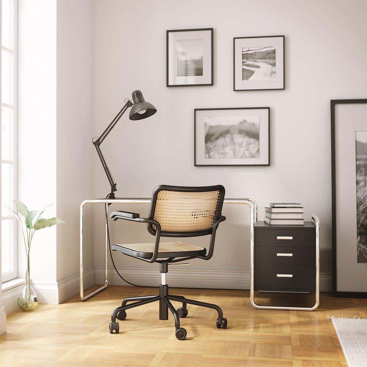 Thonet S285 Bureau & S64 VDR Bureaustoel Thuiswerkplek