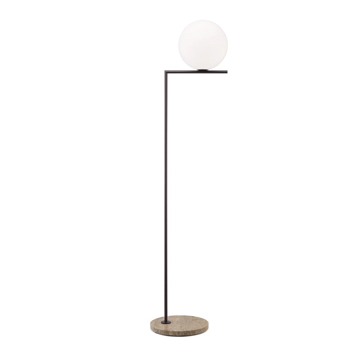 FLOS IC Light Outdoor Vloerlamp F2 - Bruin Aluminium