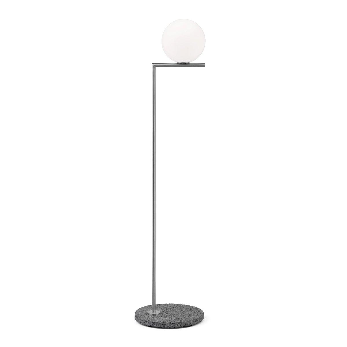 FLOS IC Light Outdoor Vloerlamp F1 - Roestvrijstaal