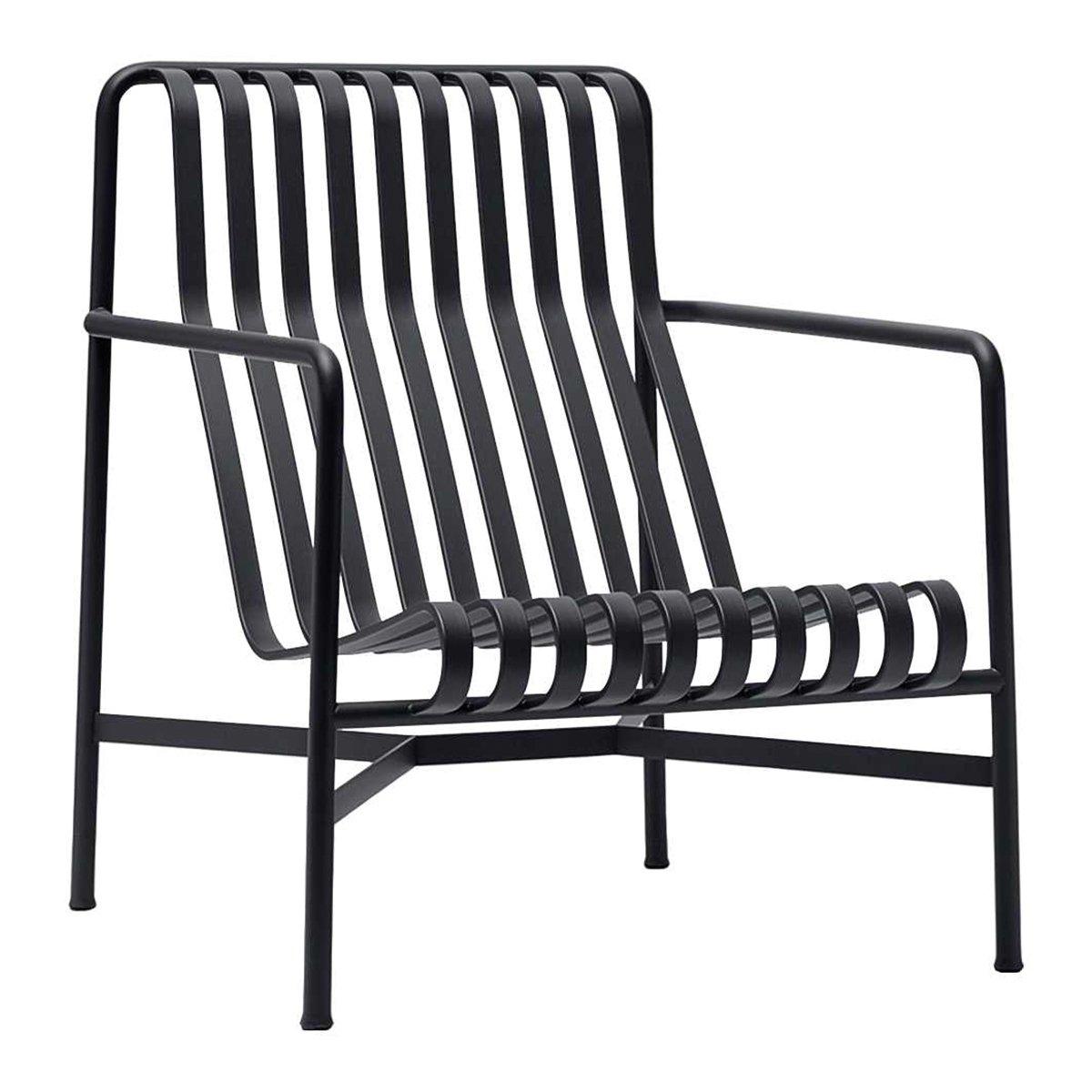 HAY Palissade Loungestoel met hoge rug