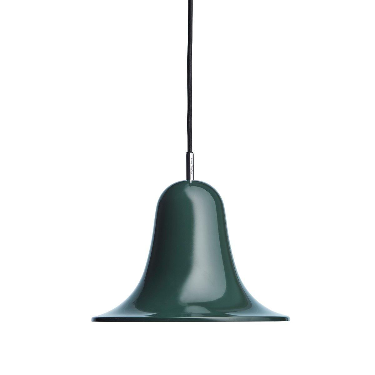 Verpan Pantop Hanglamp - Donkergroen / Ø23 x h. 16,6 cm.