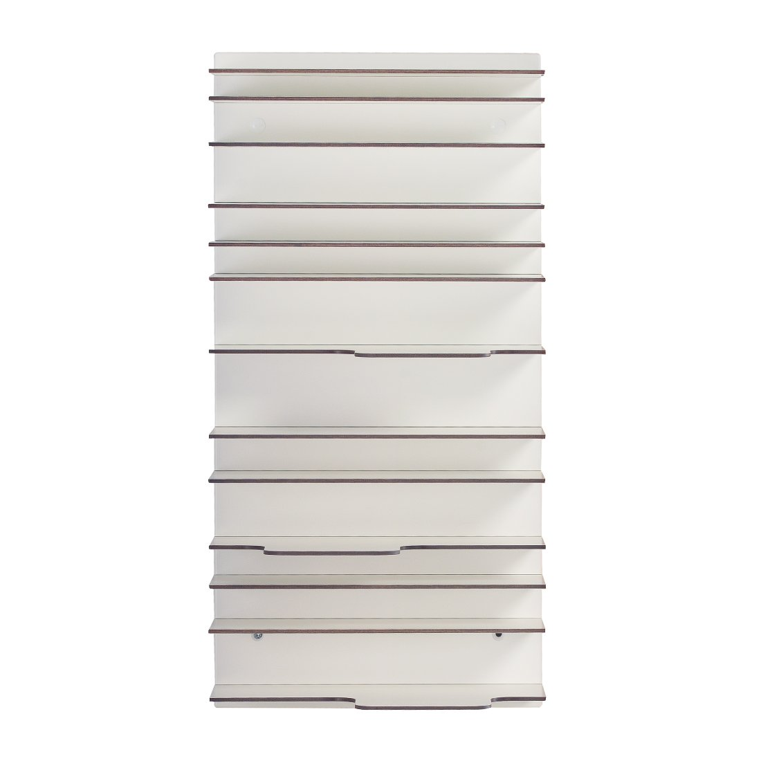 Spectrum Paperback Mini Boekenkast Wit