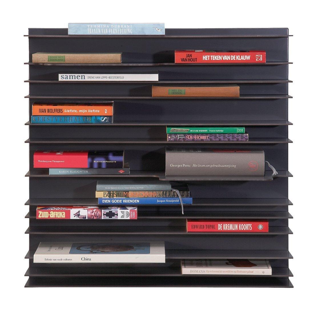 Spectrum Paperback Small Boekenkast - Antraciet