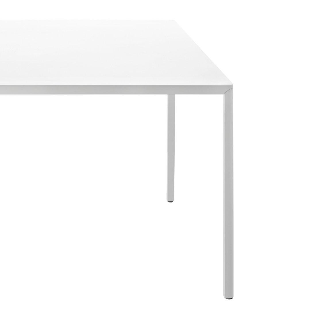 Witte Tafel 180x90.Witte Eetkamertafel 180x90