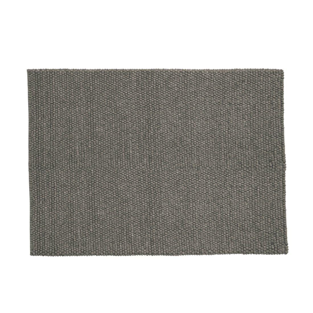 HAY Peas Karpet Vloerkleed Donker Grijs 140 x 200 cm