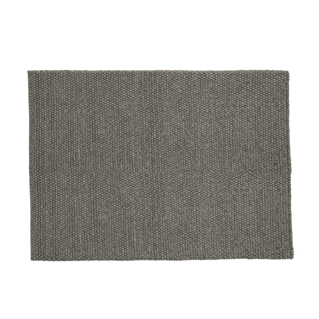 HAY Peas Karpet Vloerkleed Donker Grijs 140 x 80 cm