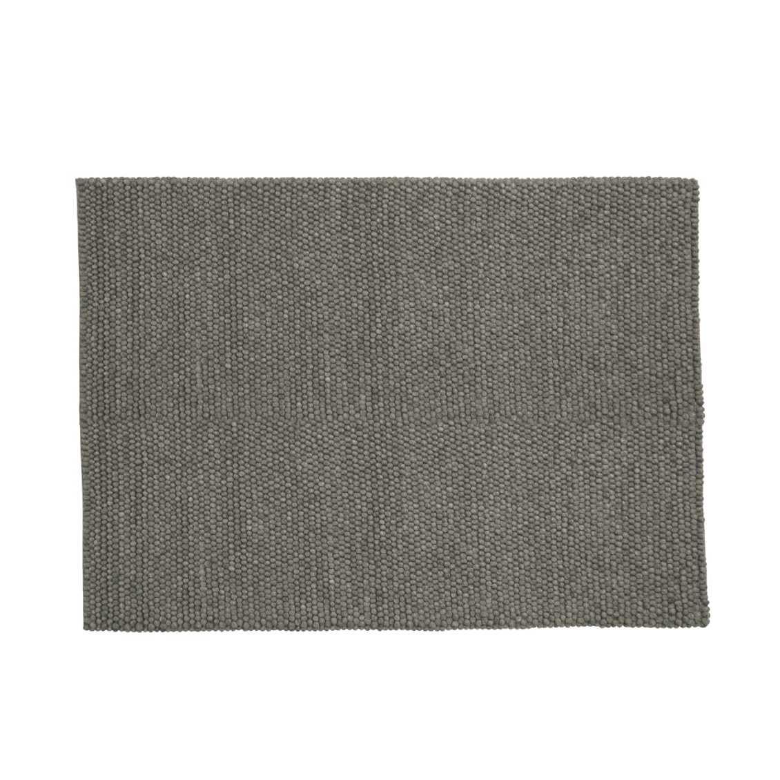 HAY Peas Karpet Vloerkleed 200 x 80 Donker Grijs