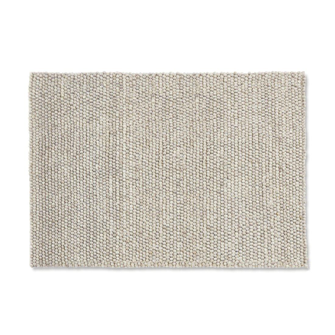 HAY Peas Karpet Vloerkleed 140 x 80 cm Licht Grijs