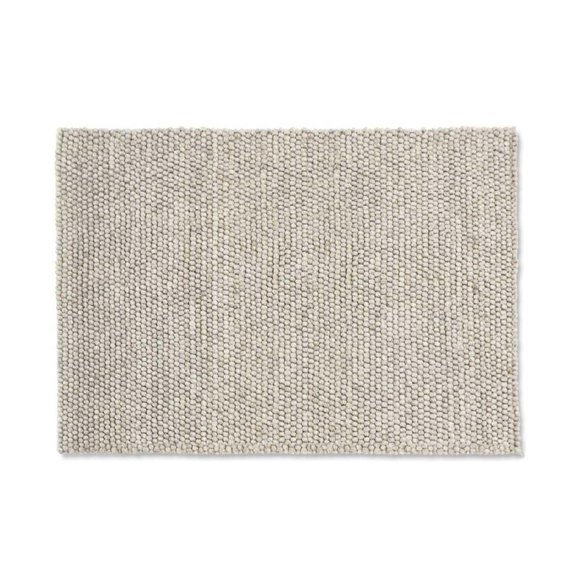 HAY Peas Karpet Vloerkleed 200 x 80 Licht Grijs