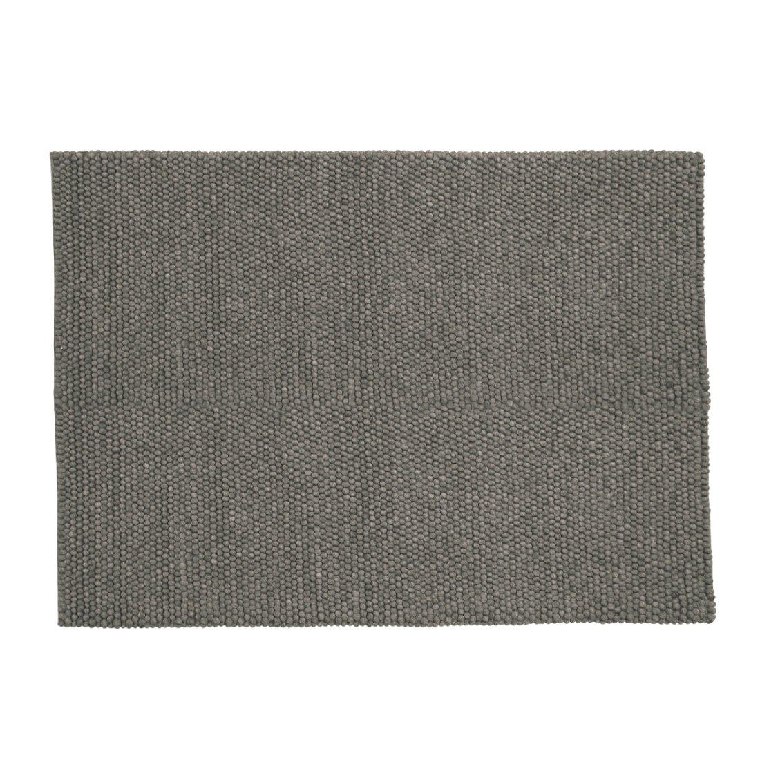 HAY Peas Karpet Vloerkleed Donker Grijs 170 x 240 cm