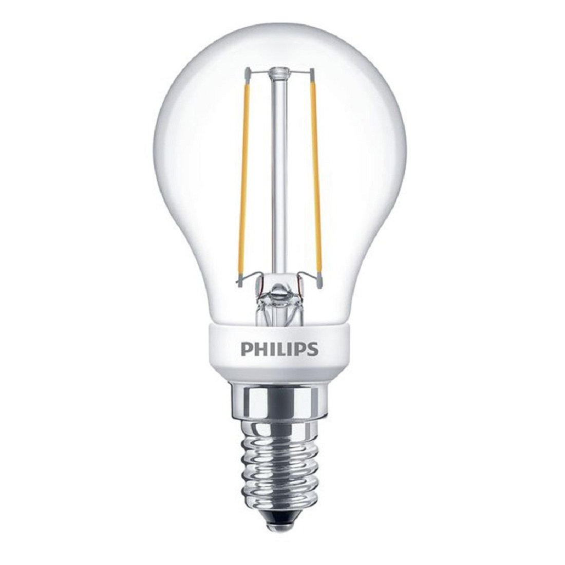 Philips LED Filament E14 2.7W Dimbaar