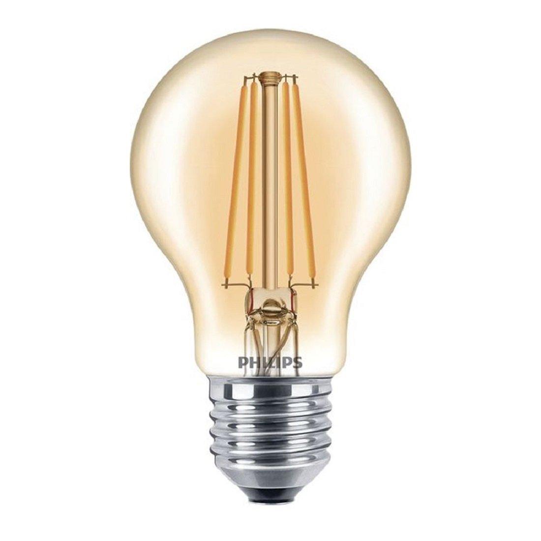 Philips LED E27 A60 7.5W 820 Goud Dimbaar