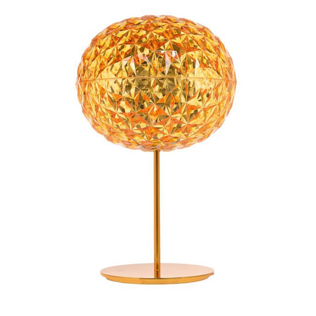Kartell Planet Tafellamp - Geel