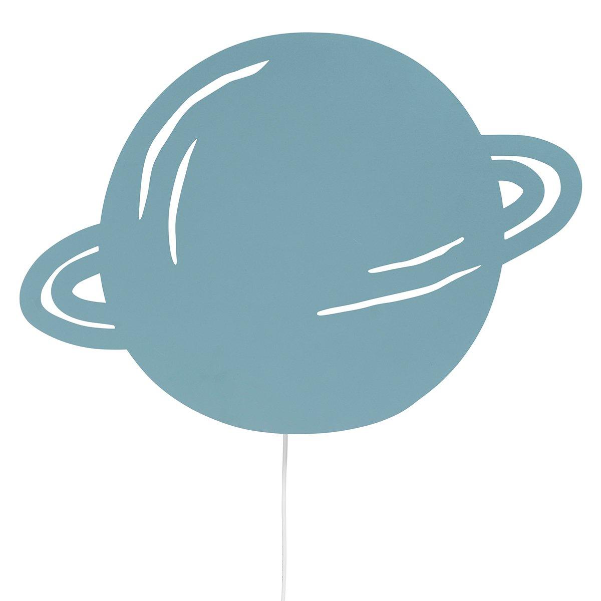 Ferm Living Planet Wandlamp - Blauw
