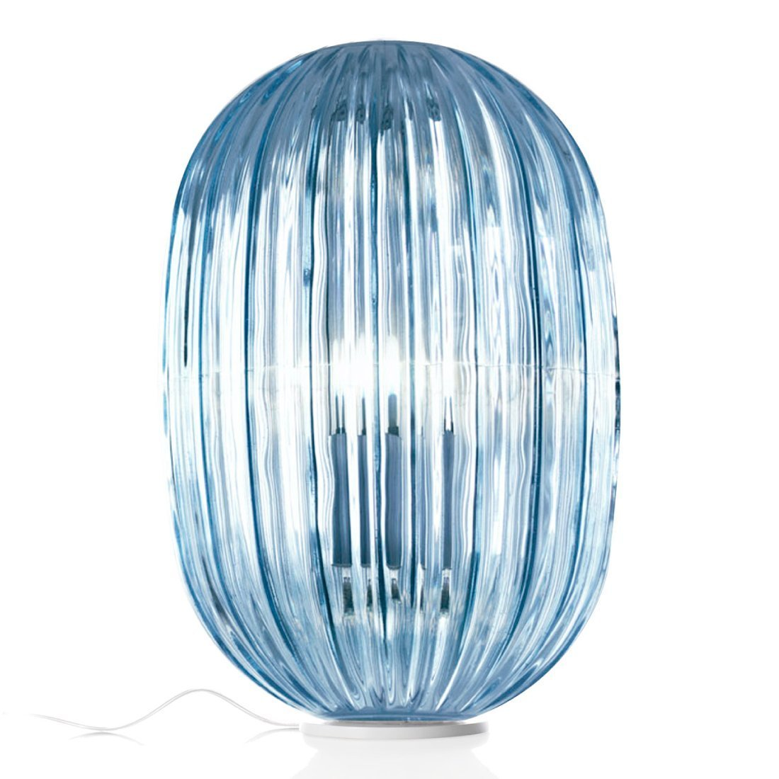Foscarini Plass Media Tafellamp Blauw