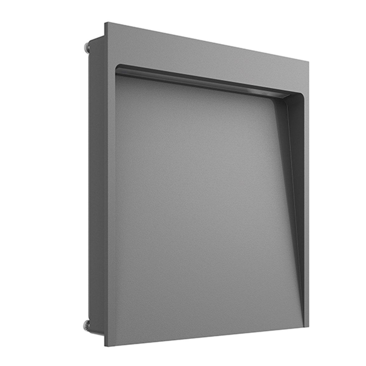 FLOS My Way Outdoor Wandlamp 210x200 Antraciet - 2700K