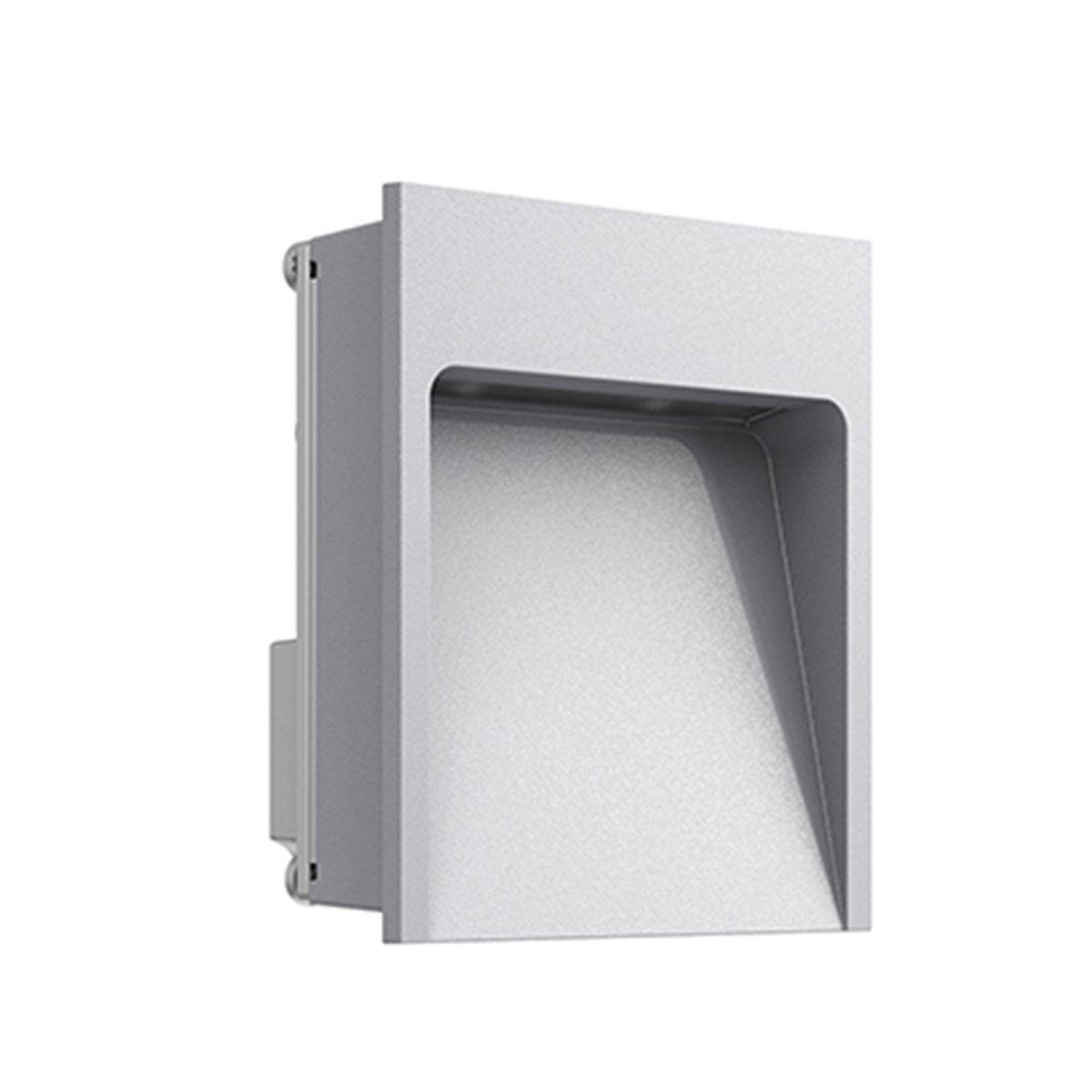 FLOS My Way Outdoor Wandlamp 110x100 Grijs - 4000K