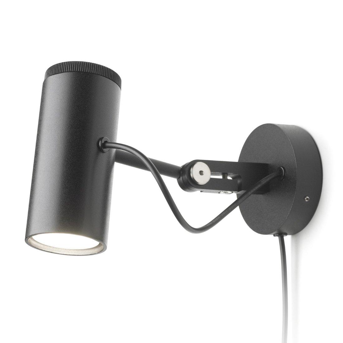 Marset Polo Wandlamp Zwart