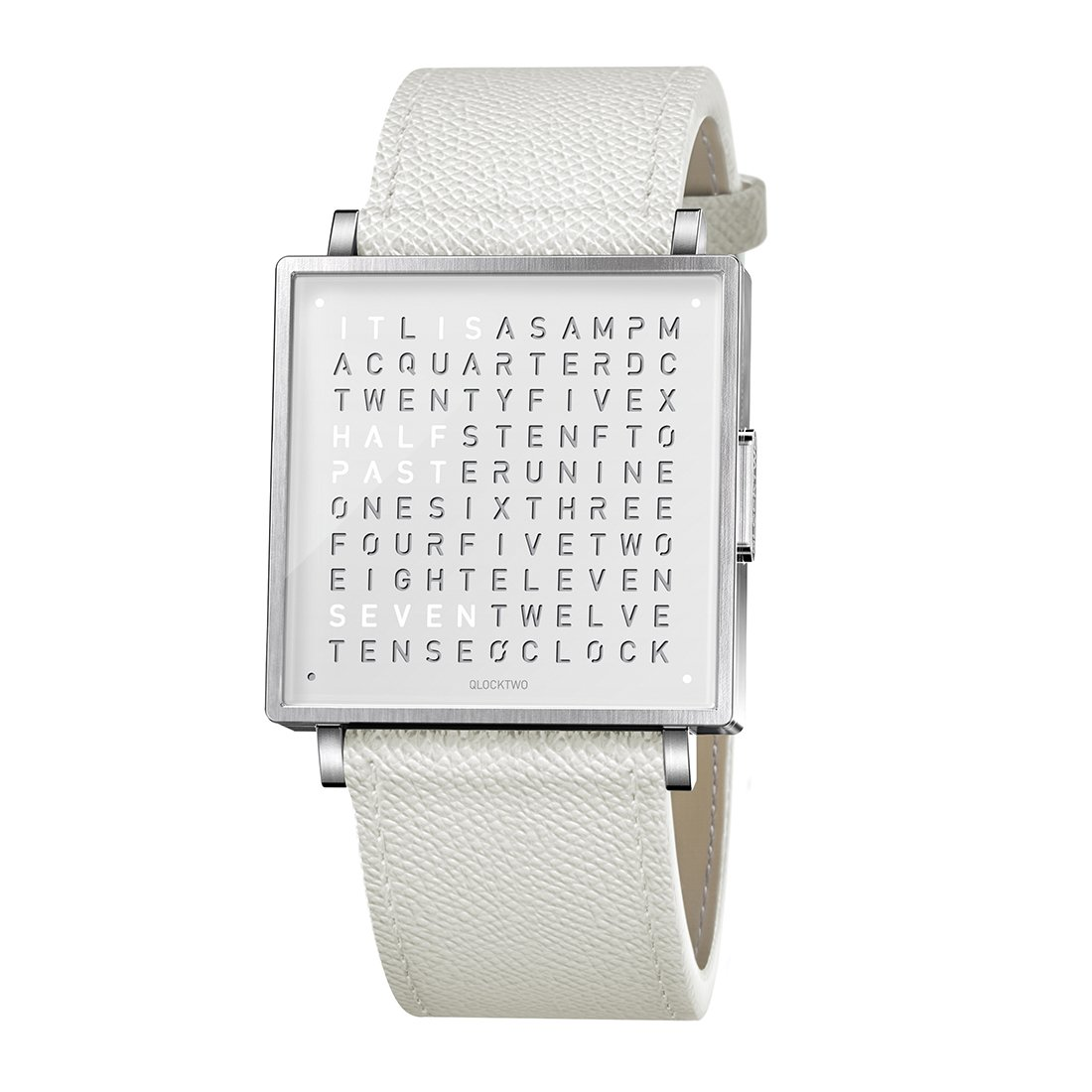 Biegert & Funk Qlocktwo Watch Pure White