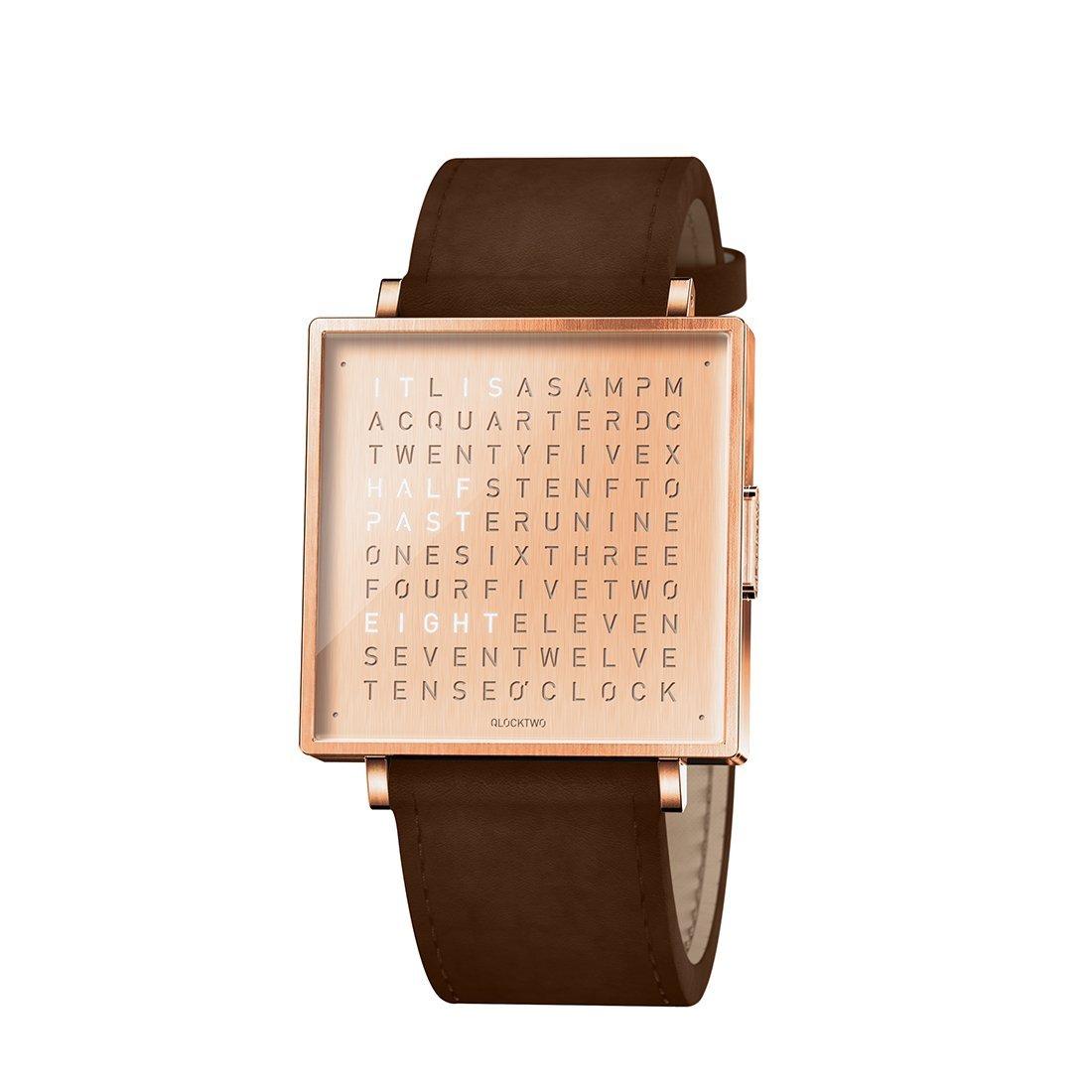 Biegert & Funk Qlocktwo Watch Copper W35 - Engels
