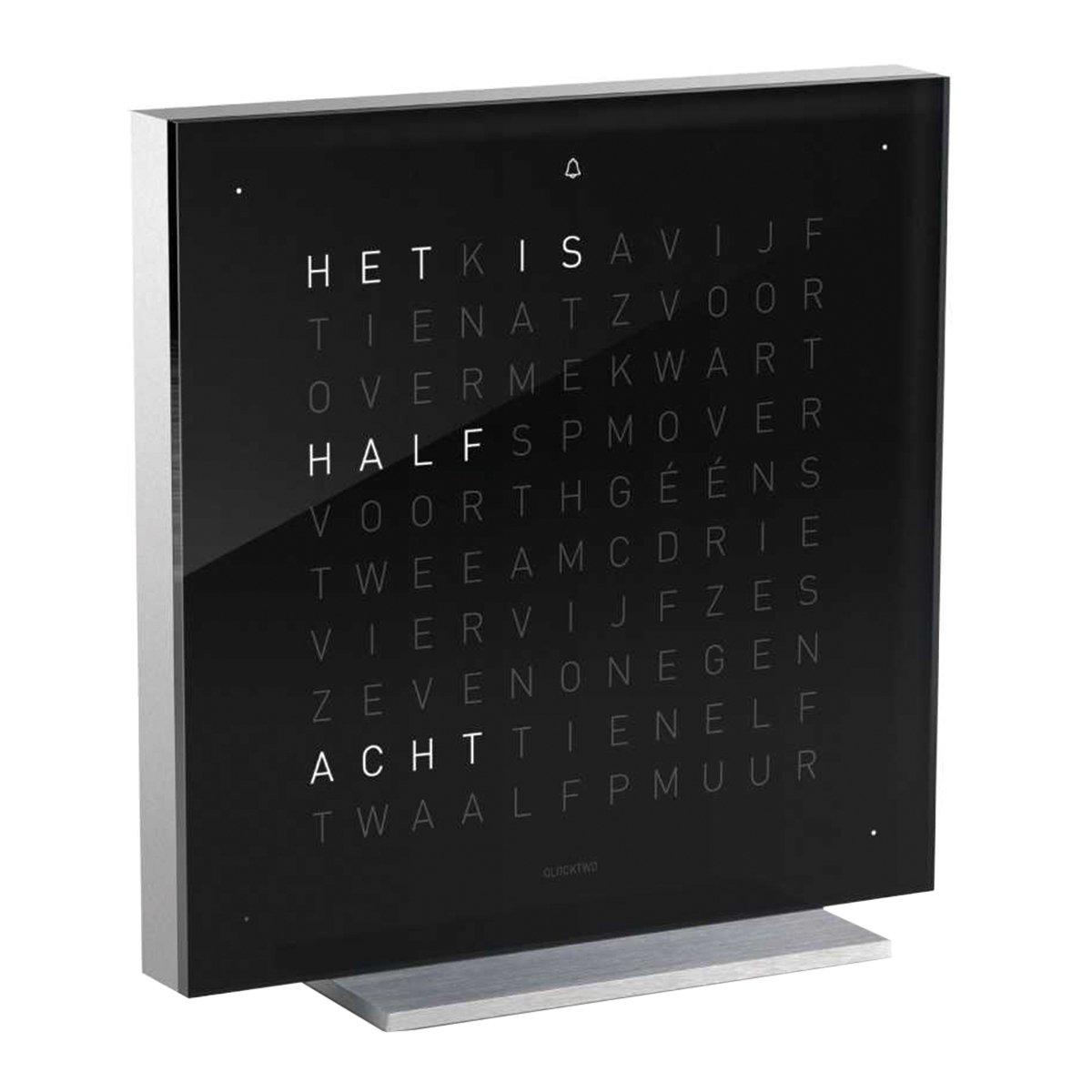 Biegert & Funk Qlocktwo Touch Zwart NL