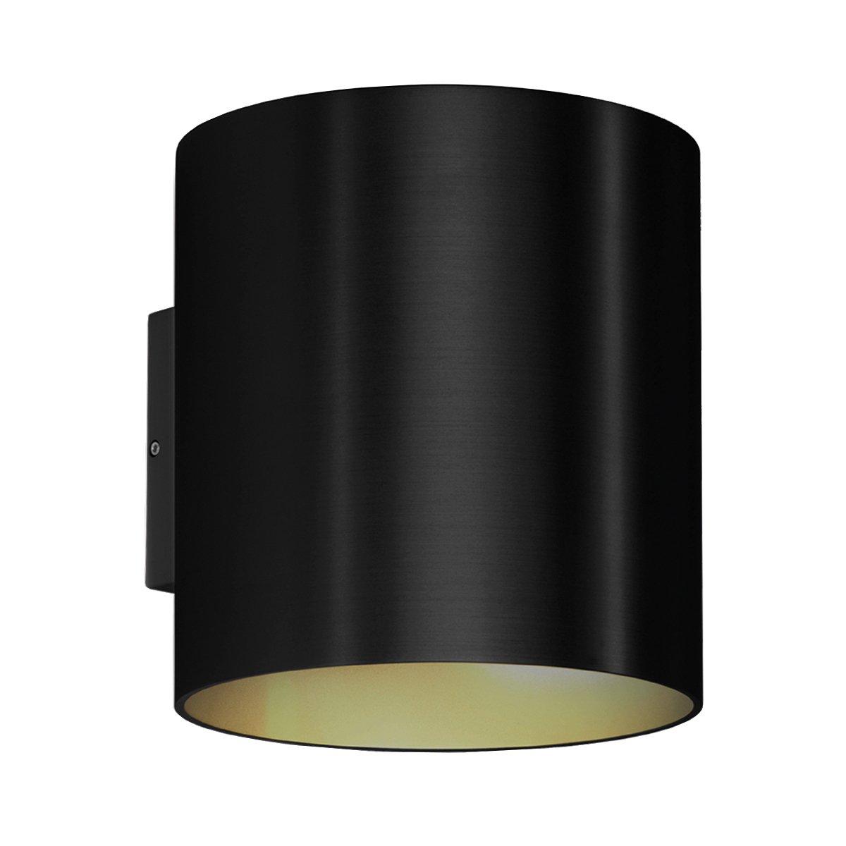 Wever & Ducr� Ray 4.0 Outdoor Wandlamp Zwart - 3000 Kelvin