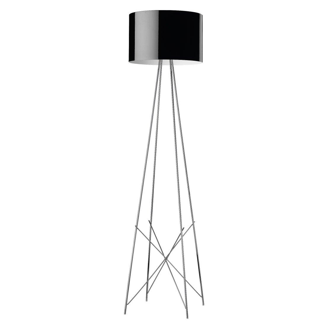 FLOS Ray F2 Vloerlamp Zwart