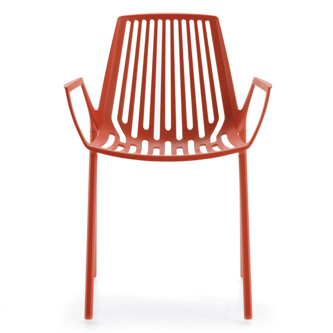 Fast Rion Chair Stoel Coral Red