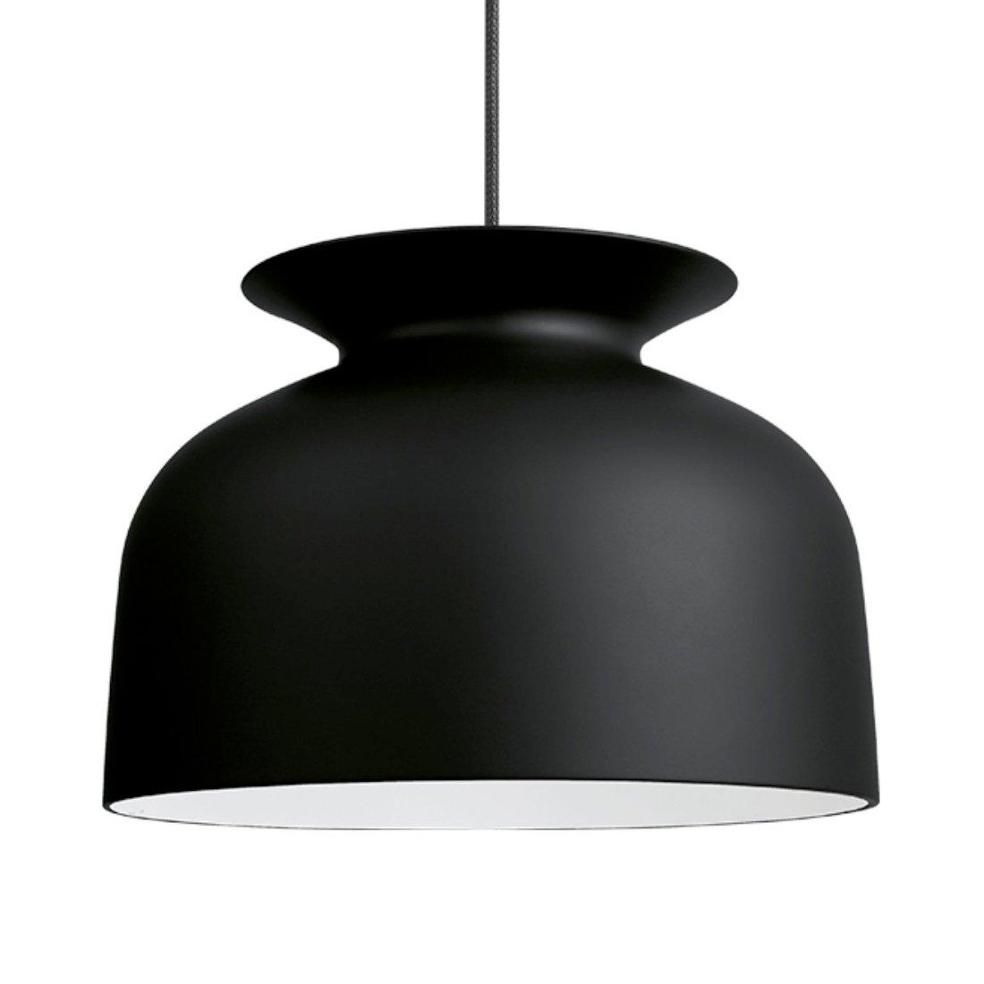 Gubi Ronde Hanglamp L Zwart