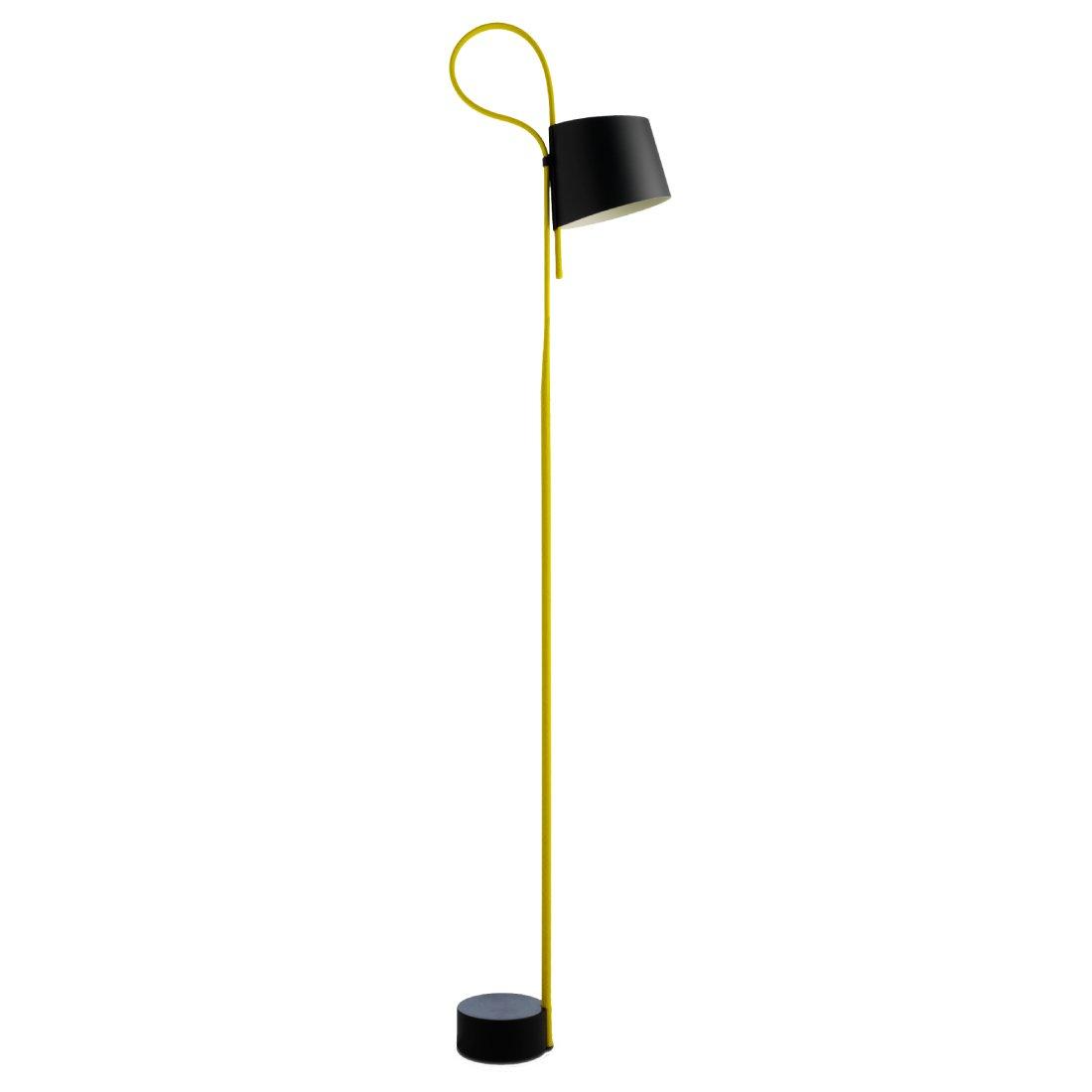 HAY Rope Trick Vloerlamp Geel