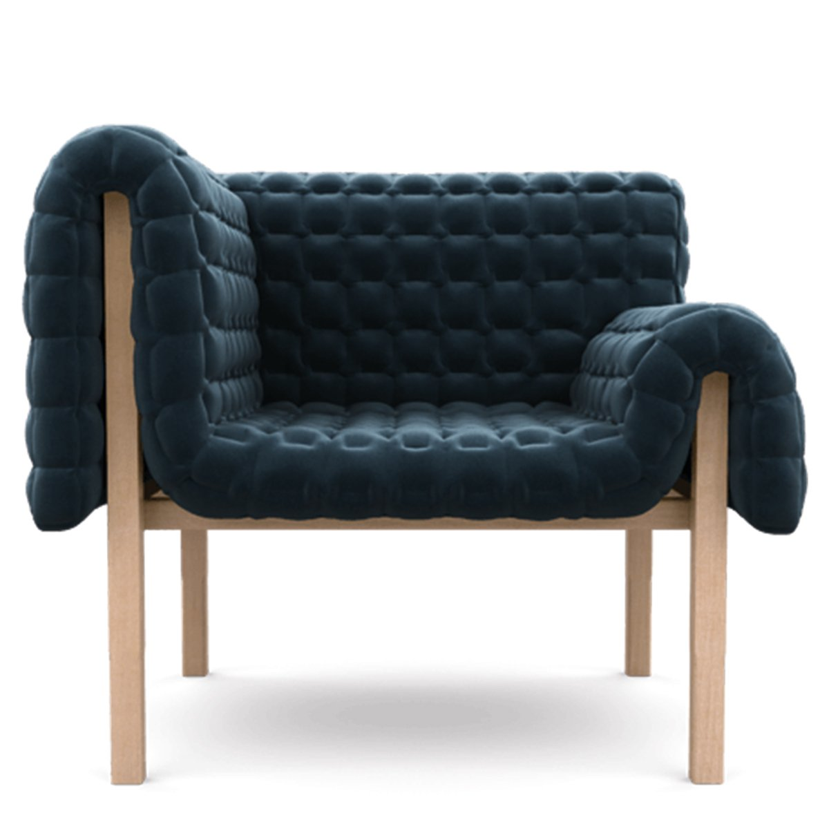 Ligne Roset Ruch� Fauteuil Harald Bouteille - Links