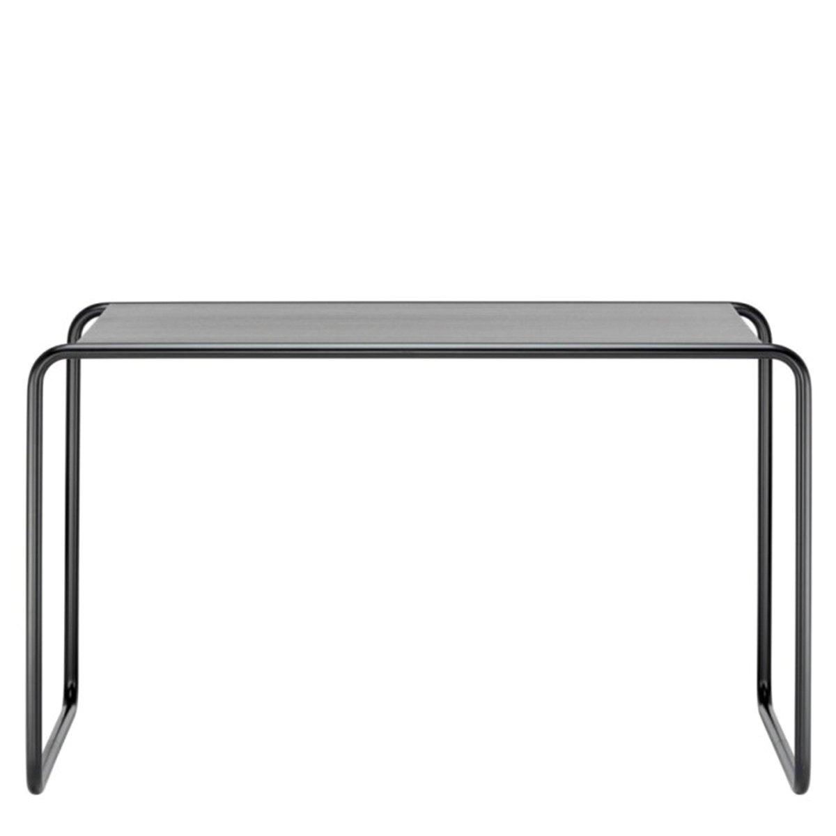 Thonet S285/0 Bureau - Zwart frame / Zwart gebeitst eiken