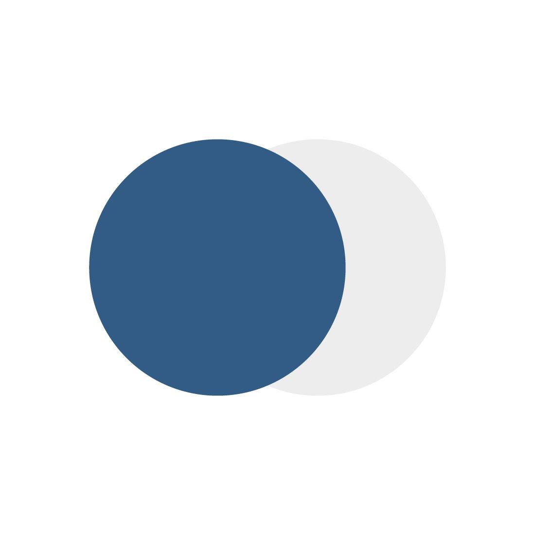 Marset Scotch Plafondlamp Blauw - Wit