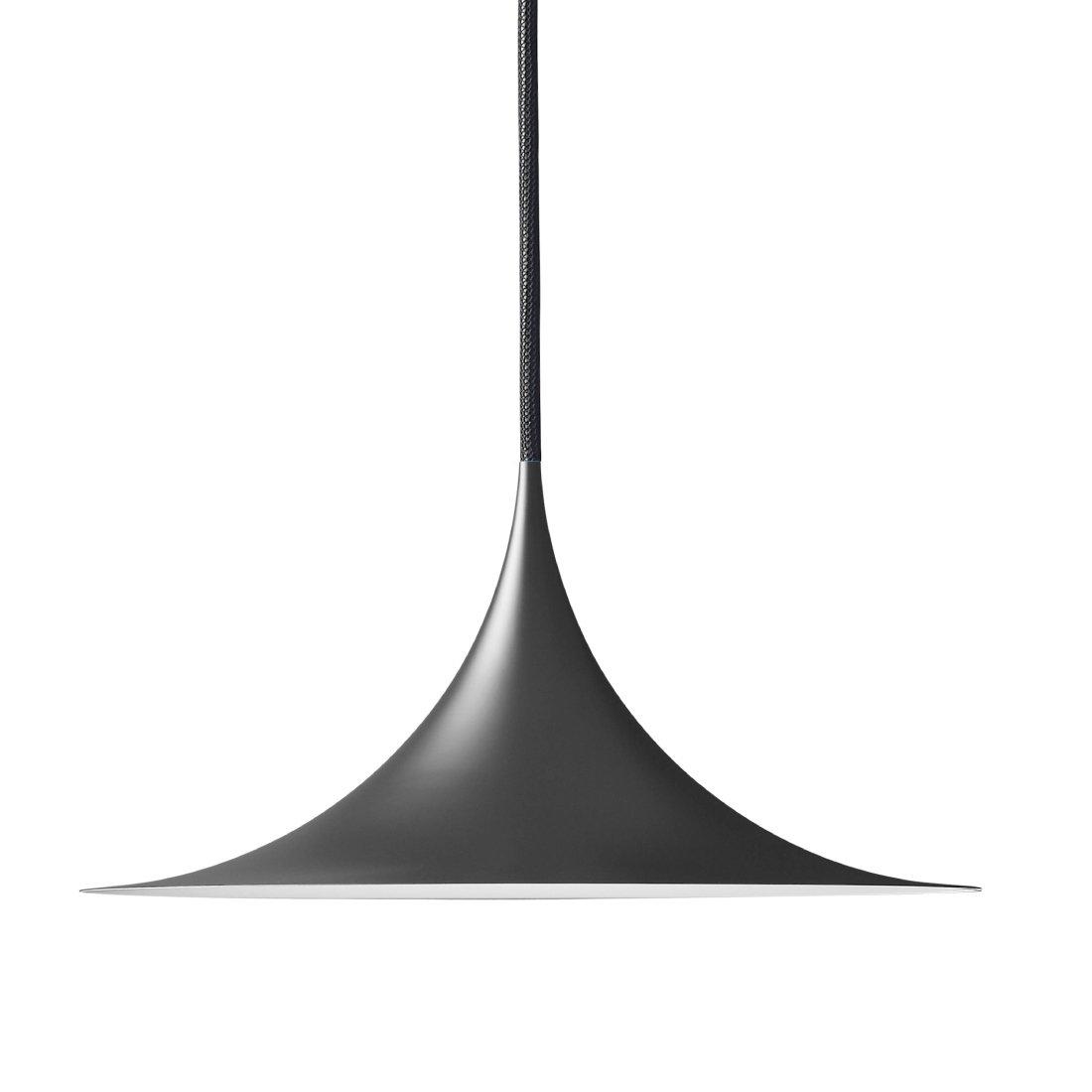 Gubi Semi Hanglamp �60 cm. Mat Zwart